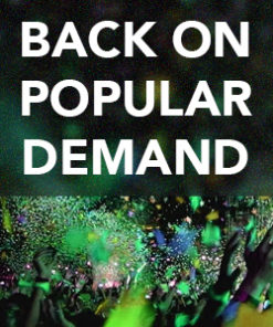 Back on Popular Demand - May 2020